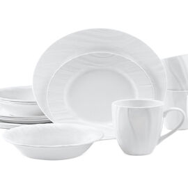 Corelle Swept Dinnerware Set - 16 piece