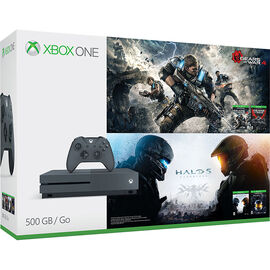 Xbox One S Gears & Halo Special Edition Bundle (500GB)
