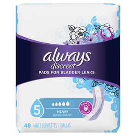Always Discreet Pads Maximum Regular Length - 48's