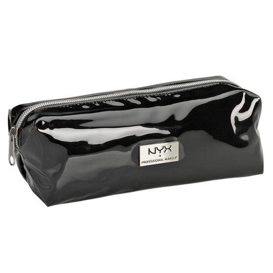 NYX Professional Makeup Vinyl Zipper Makeup Bag - Black