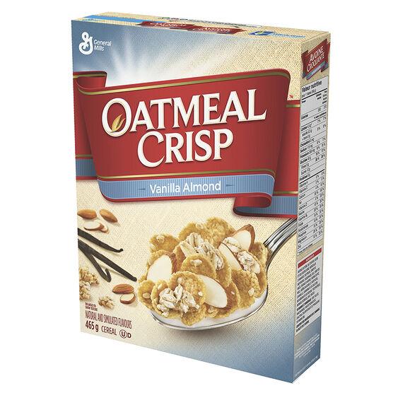 Oatmeal Crisp Cereal - Vanilla Almond - 465g