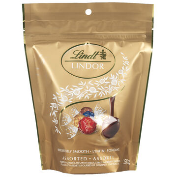 Lindor Assorted Pouch - 250g