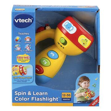 VTech Spin & Learn Colour Flashlight - 80124000