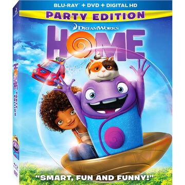 Home - Blu-ray + DVD + Digital HD