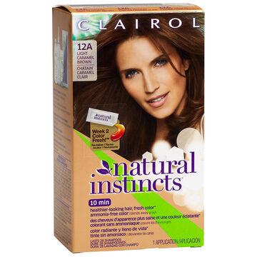 Clairol Natural Instincts Light Caramel Brown