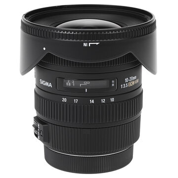 Sigma EX DC 10-20mm F3.5 HSM Lens for Canon