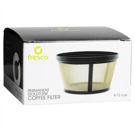 Jasi 8-12 cup Goldtone Basket Filter - KF-10T