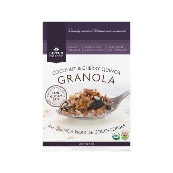 Lotus Granola - Coconut & Cherry Quinoa - 300g