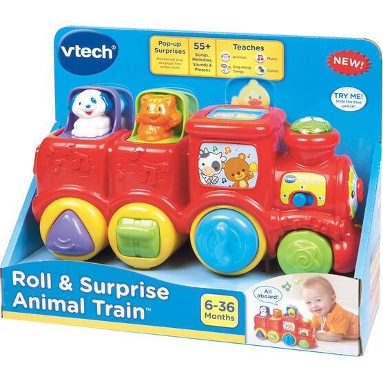 VTech Roll & Surprise Animal Train - 80151100