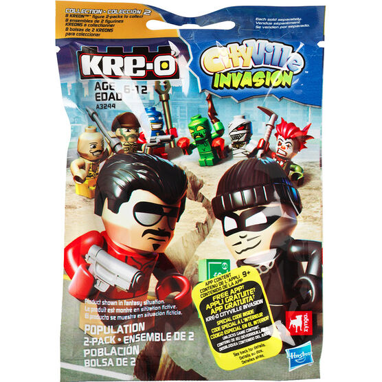 Kre-O CityVille Invasion Population 2 Pack - Assorted