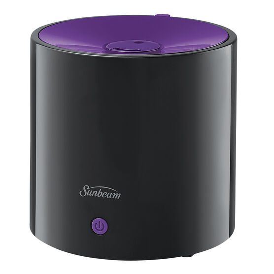 Sunbeam Ultrasonic Personal Humidifier - Black and Purple - SUL411P-CN