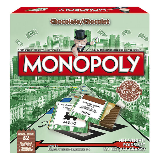 Chocolate Monopoly Game - 144g
