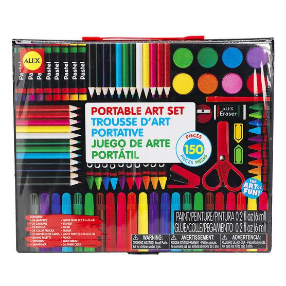 Alex Portable Art Set - 150 pieces - 352-150