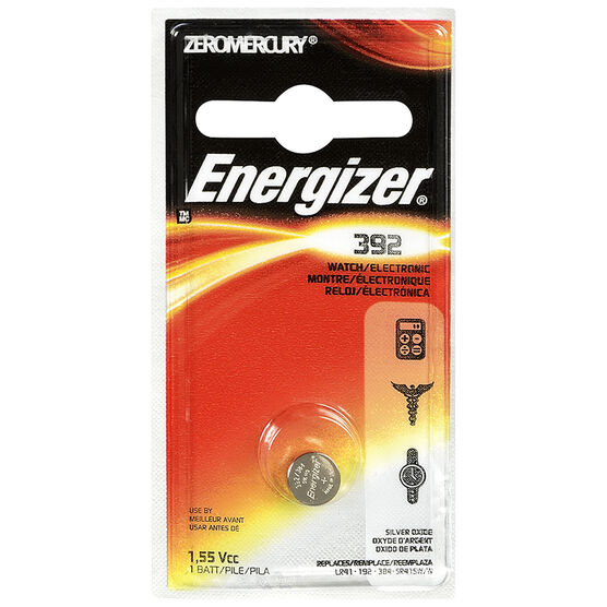 Energizer Watch/Electronic Batteries - 392BPZ