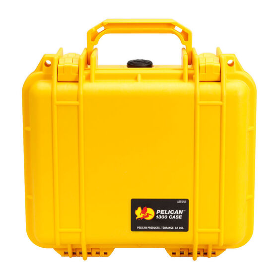 Pelican 1300 Protector Case with Foam - Yellow - 1300-000-240
