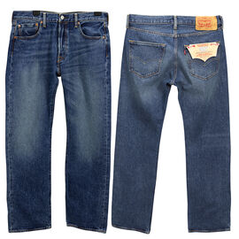 Levi's 501 Designer Jeans - Red Point