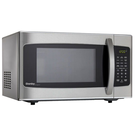 Danby Designer 1 Cu Ft Microwave Oven Stainless Steel Dmw111kssdd