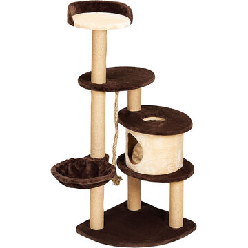 London Drugs Cat Tree - Beige - 6 Level