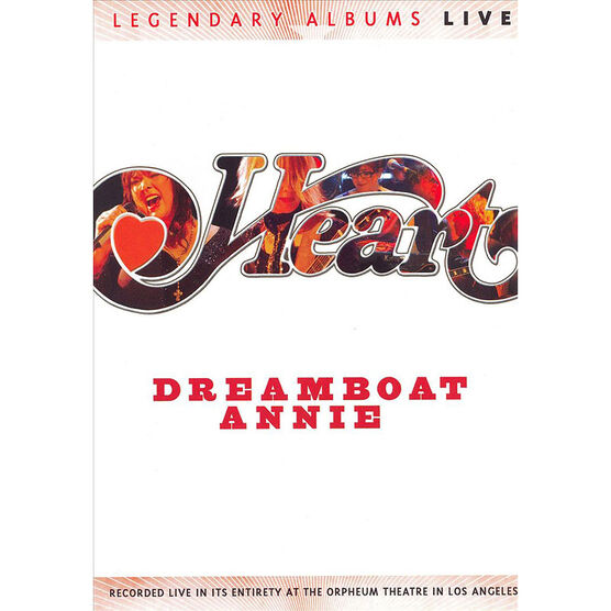 Heart - Dreamboat Annie: Live - DVD