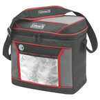 Coleman 16 Can Soft Cooler - Red/Grey - 2000025130