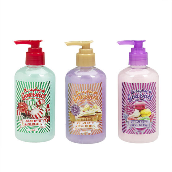 Everyday Gourmet Cream Bath - Assorted - 240ml