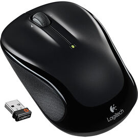 Logitech M325 Wireless Mouse - Black - 910-002989