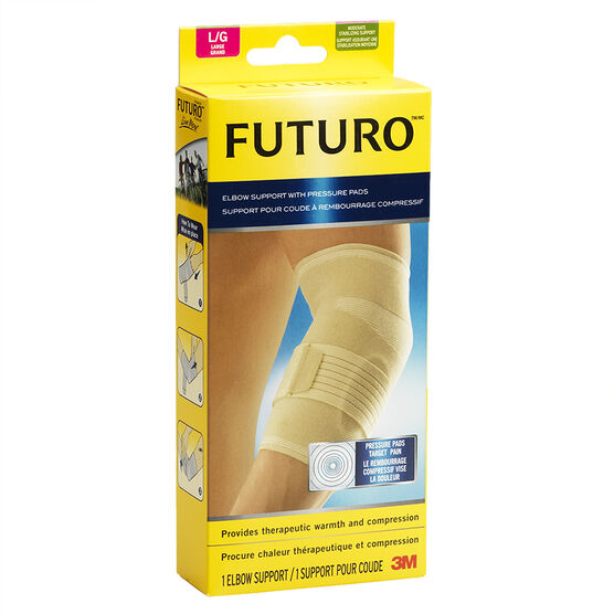 Futuro Elbow Support with Pads - Large
