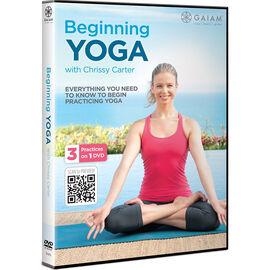 Beginning Yoga W  Chrissy Carter - DVD