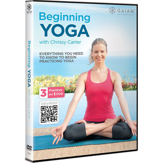 Beginning Yoga W  Chrissy Carter - DVD