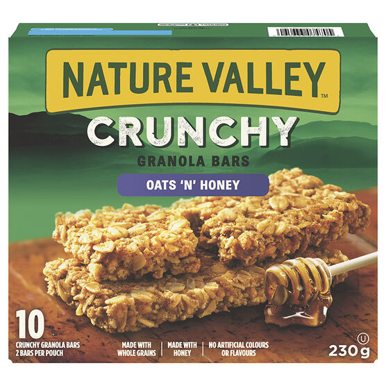 Nature Valley Crunchy Granola Bars - Oats N' Honey - 230g