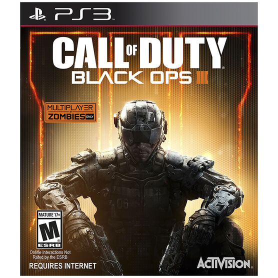 PS3 Call of Duty: Black Ops 3 - English Only