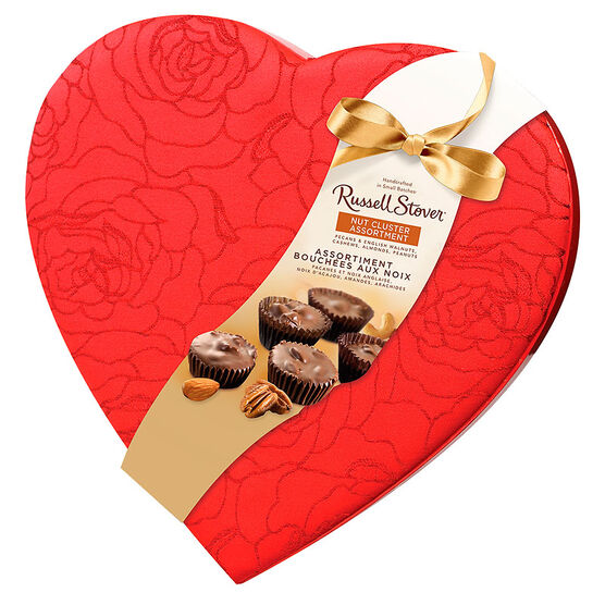 Russell Stover Nut Clusters Heart - 227g
