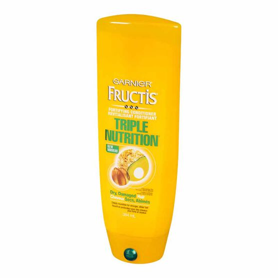 Garnier Fructis Fortifying Conditioner Triple Nutrition - 384ml