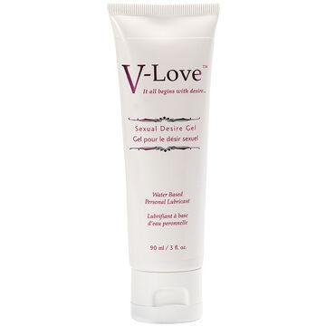 V-Love Sexual Desire Gel Personal Lubricant - 90ml