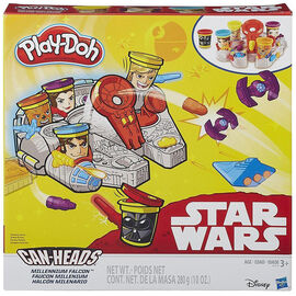 Play-Doh Star Wars Millennium Falcon Featuring Can Heads