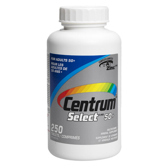 Centrum Select Multi-Vitamin 50 plus - 250's
