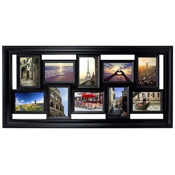 "KG Montage Collage Frame - Black - 10-4""X6"""