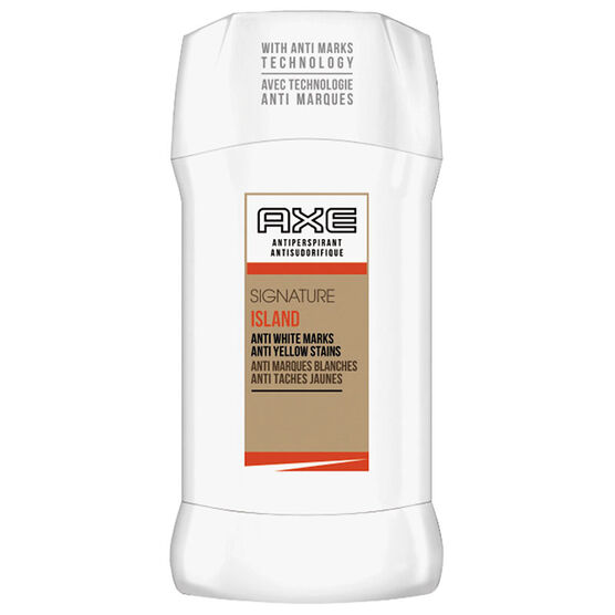 Axe White Label Anti-Perspirant Stick- Island - 76g