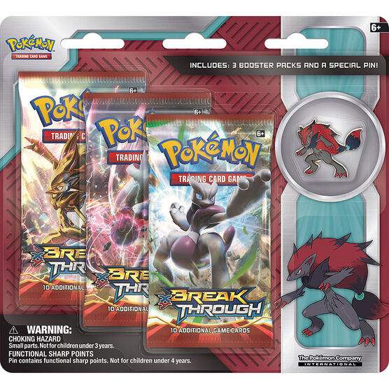 Pokémon Zoroark Collector's Pin - Assorted