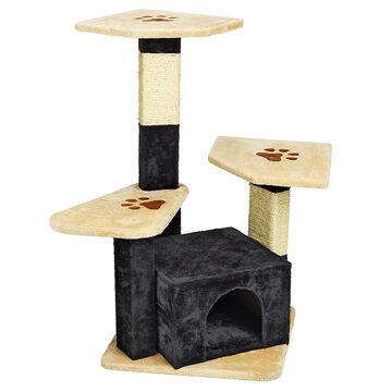London Drugs Cat Tree - 4 Level - 50 x 50 x 99cm