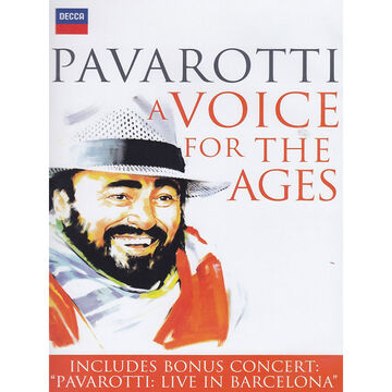 Luciano Pavarotti - A Voice For The Ages - DVD