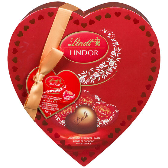 Lindor Amour Milk Chocolate Heart - 108g