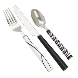 Corelle Simple Lines Flatware - 18/0 - 12 piece set