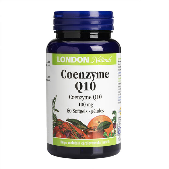 London Naturals Coenzyme Q10 - 100mg - 60's