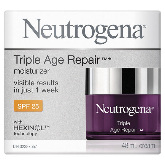 Neutrogena Triple Age Repair Moisturizer - SPF 25 - 48ml