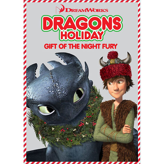 Dragons Holiday: Gift of the Night Fury - DVD