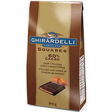 Ghirardelli Dark Chocolate Caramel Squares - 166g