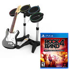 PS4 Rock Band 4 - Band-In-A-Box Bundle