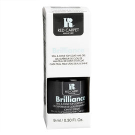 Red Carpet Manicure Brilliance Seal & Shine Top Coat Gel - 9ml