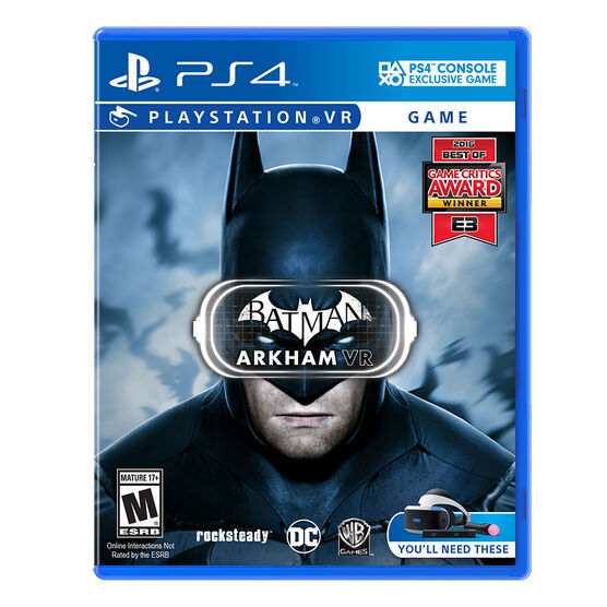 PS VR Batman: Arkham VR